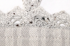 Detail von Schneiderin Simona