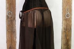 Unterbrustkorsett mit Kleid von Schneiderin Simona