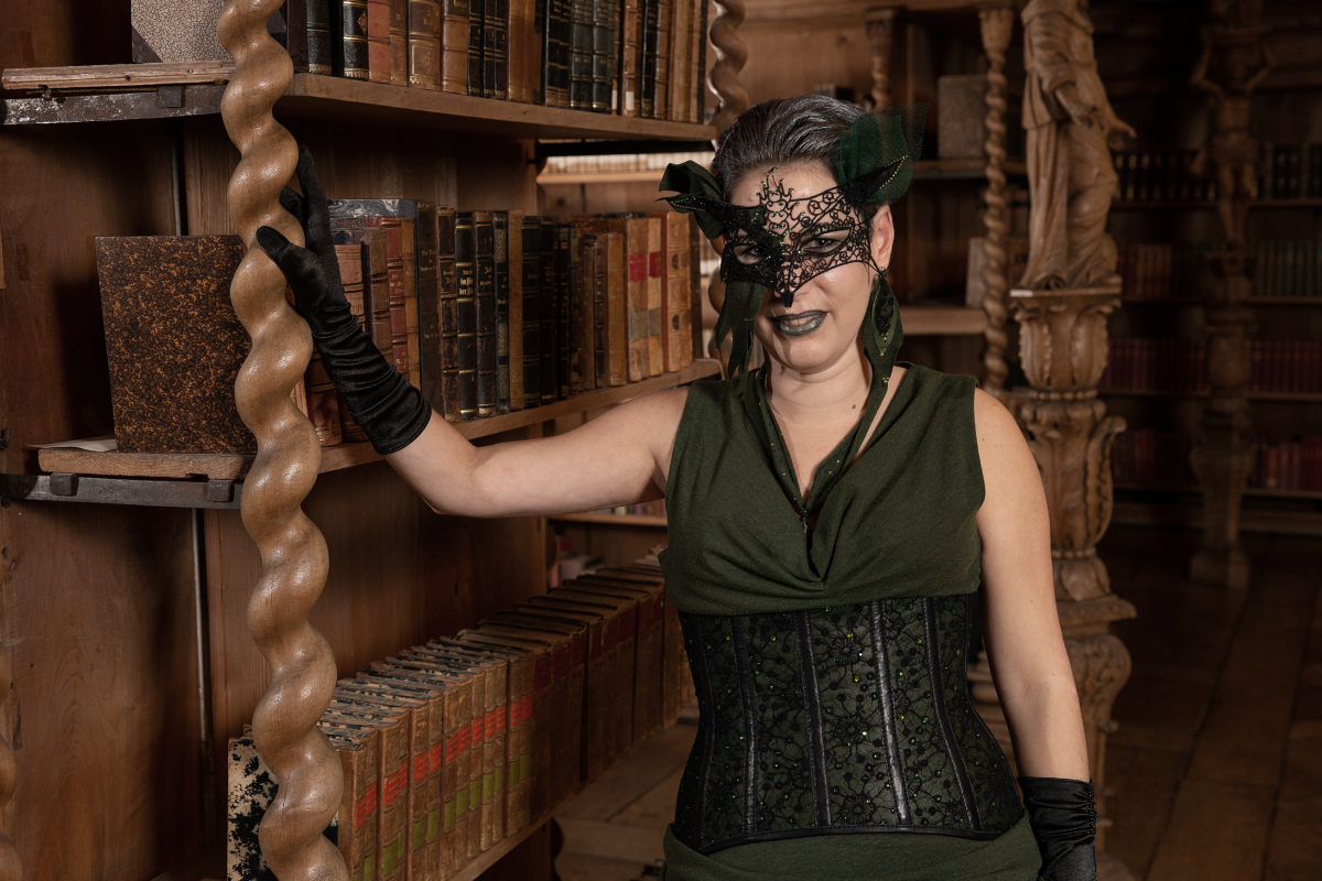 Maskenball Kostüm von Schneiderin Simona
