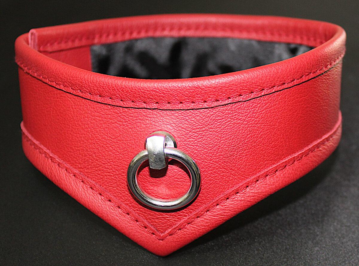 Ein rotes Halsband